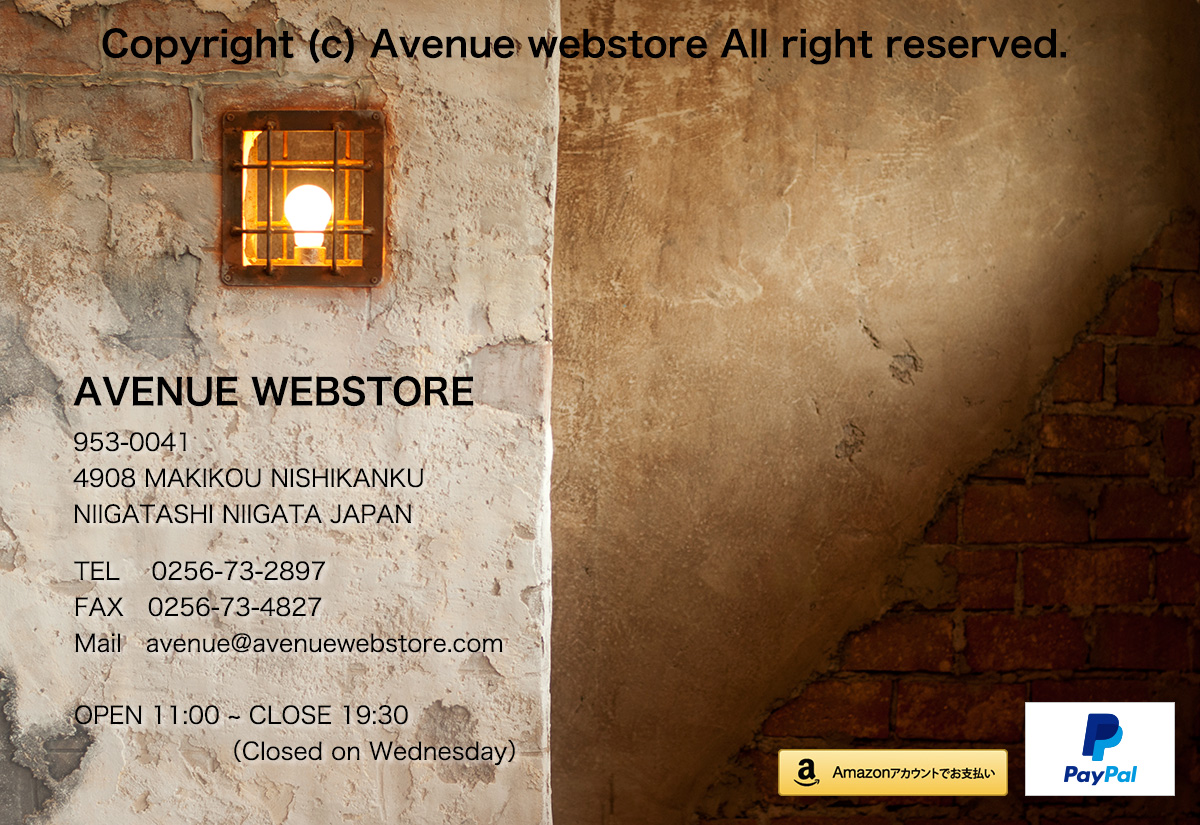 copyright © AVENUE WEBSTORE all right reserved.